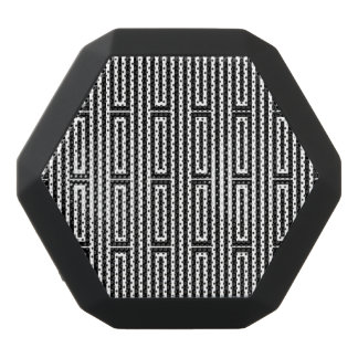 Abstract ethnic background black bluetooth speaker