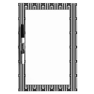 Abstract ethnic background dry erase board
