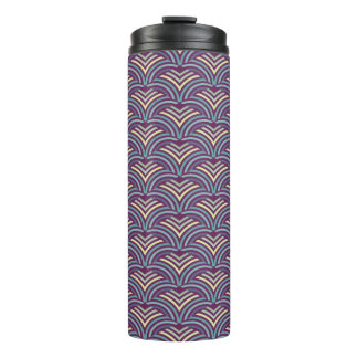 Abstract ethnic background thermal tumbler