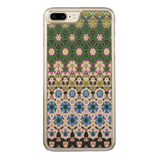 Abstract ethnic floral pattern No13 Carved iPhone 8 Plus/7 Plus Case