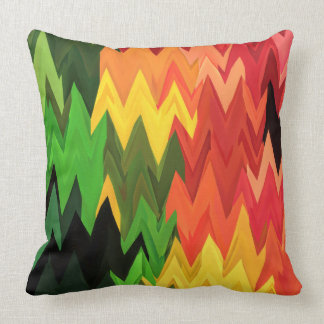 Abstract Ethnic Multicolor Art Vitaleg Pillow