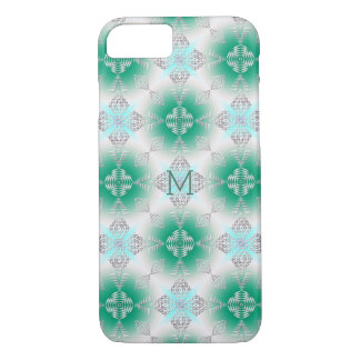 abstract ethnic pattern.Monogram. iPhone 8/7 Case