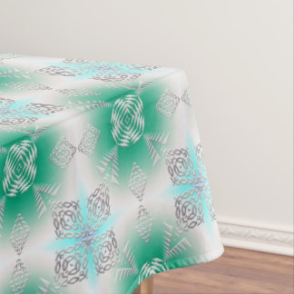 abstract ethnic pattern tablecloth