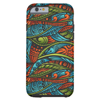 Abstract ethnic wallpaper tough iPhone 6 case