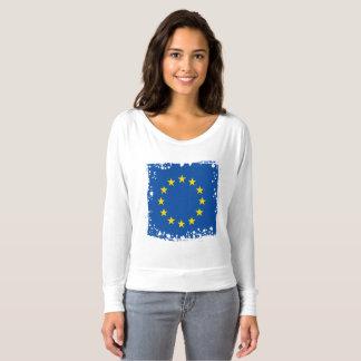 Abstract European Flag, Europe Colors T-Shirt