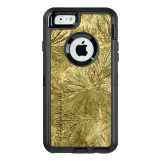 Abstract evergreen needles his name camouflage OtterBox iPhone 6/6s case