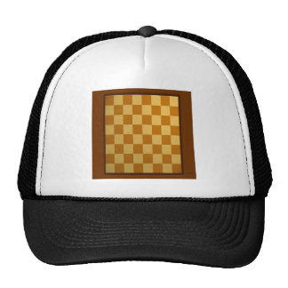 Abstract Everyday Chess Board Trucker Hats