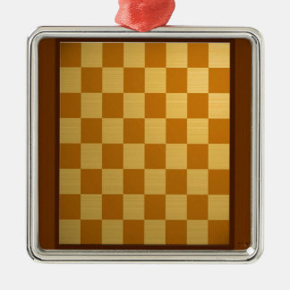 Abstract Everyday Chess Board Ornament