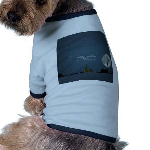Abstract Everyday Night Time Capitalism Pet Clothes