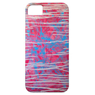 Abstract Experimental Splatter Painting Phone Case