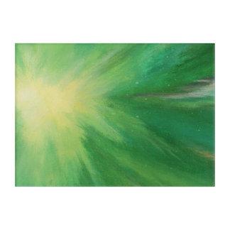 Abstract Exploding Stars Acrylic Wall Art