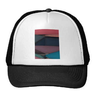 Abstract Expression Landscape Cap