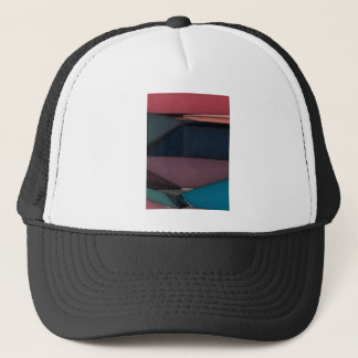 Abstract Expression Landscape Trucker Hat