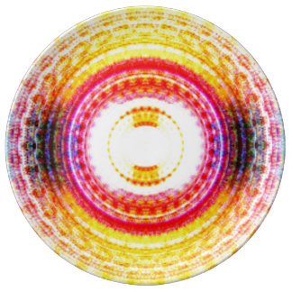 Abstract Expression Plate