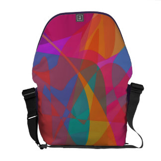 Abstract Expressionism Courier Bags