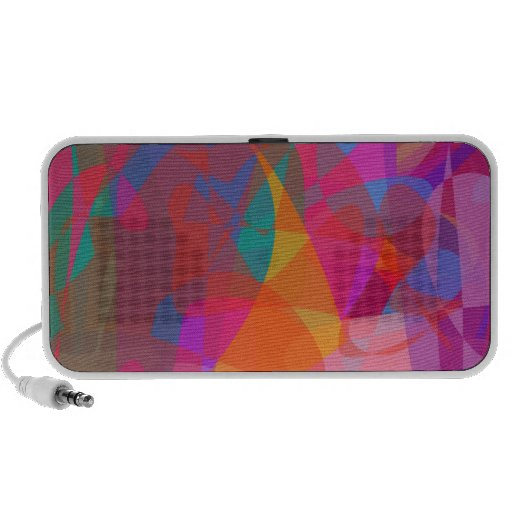Abstract Expressionism Laptop Speakers