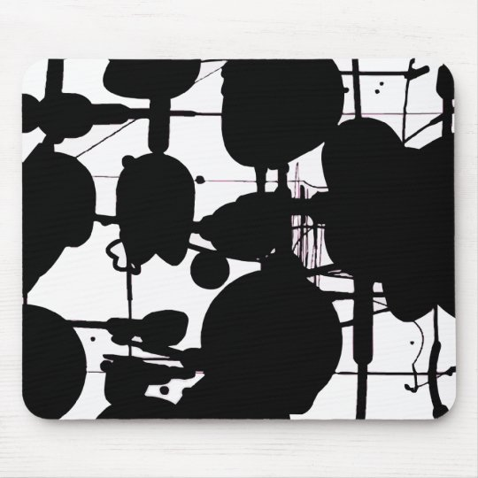 Abstract Expressionist Mouse Mat