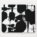 Abstract Expressionist Mouse Pads