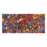 Abstract - Fabric Paint - Sanity Full Color Rack Card