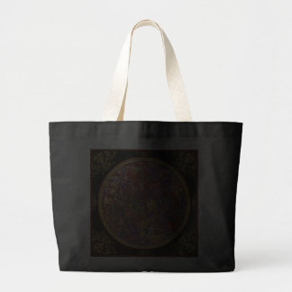 Abstract - Fabric Paint - String Theory Jumbo Tote Bag