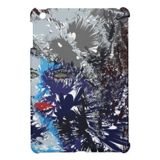 Abstract Face iPad Mini Cases