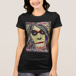 Abstract Face~Original Art from NJPunks T-Shirt