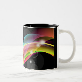 Abstract Fantastic Design Vector Background Coffee Mugs