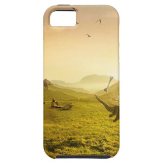 Abstract Fantasy Catch Bone Dino iPhone 5/5S Covers