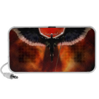 Abstract Fantasy God Of War Ares Travelling Speakers