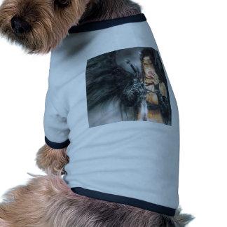Abstract Fantasy Kiss Or Kill Misstress Doggie T Shirt