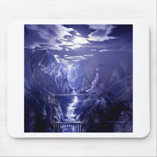 Abstract Fantasy Valley Of Hope Mouse Pad