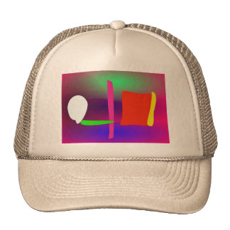 Abstract Fence Hat