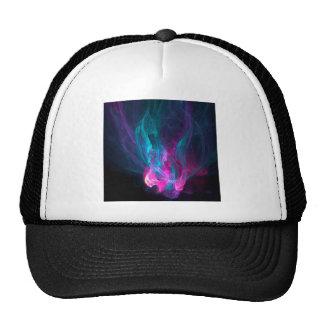 Abstract Fiery Descent Trucker Hats