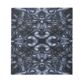 Abstract figures pattern notepad