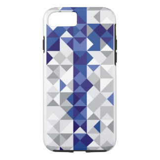 Abstract Finland Flag, Finnish Colors iPhone 8/7 Case