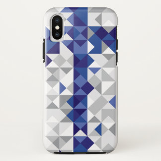 Abstract Finland Flag, Finnish Colours iPhone X Case