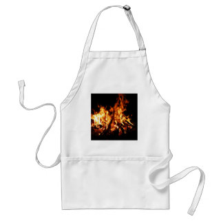 Abstract Fire Hot Ember Apron