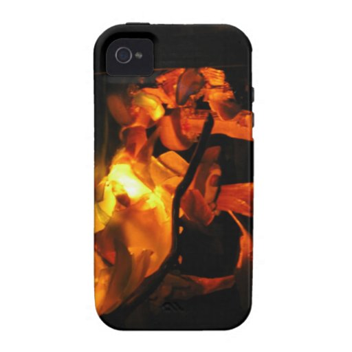 abstract fire iphone casemate tough iPhone 4 case