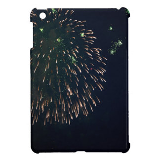 Abstract Fireworks Green Chandelere iPad Mini Cover