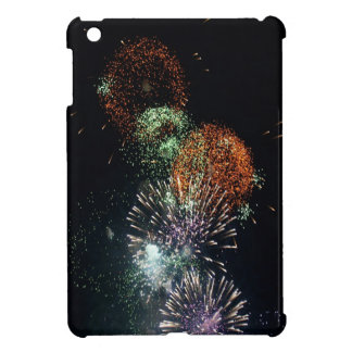 Abstract Fireworks Green Cocktail iPad Mini Case