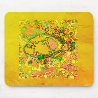 Abstract_Fish_Art_II_Multi-Colors-Unisex Mouse Mat