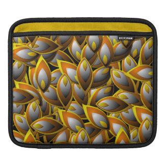 Abstract Flame Leaf iPad Sleeve