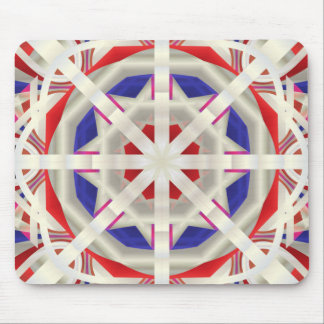Abstract Flare Mouse Pads