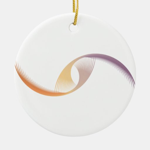 Abstract Flight Christmas Tree Ornament