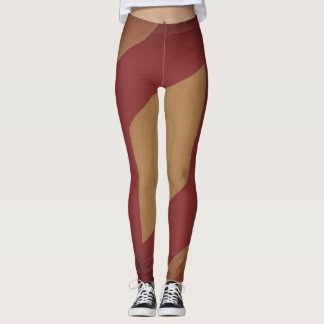 abstract flog leggings