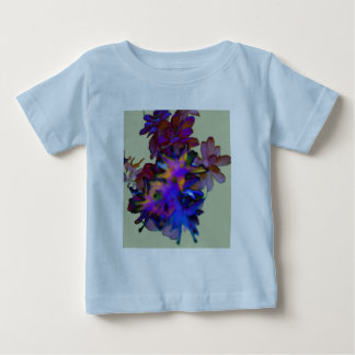Abstract Floral Baby T-Shirt