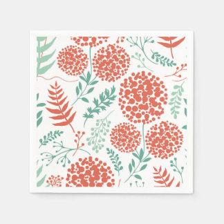 Abstract Floral Background | Napkin Disposable Serviettes