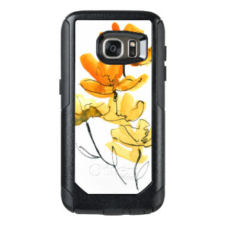 Abstract floral background OtterBox samsung galaxy s7 case