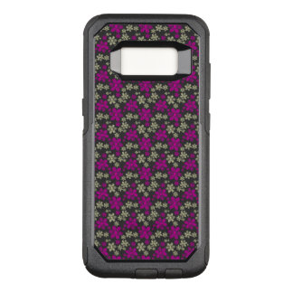 Abstract Floral Chevron Pattern OtterBox Commuter Samsung Galaxy S8 Case