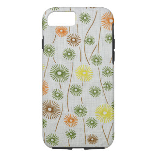 Abstract Floral Colorful Retro Dandelions Pattern iPhone 8/7 Case